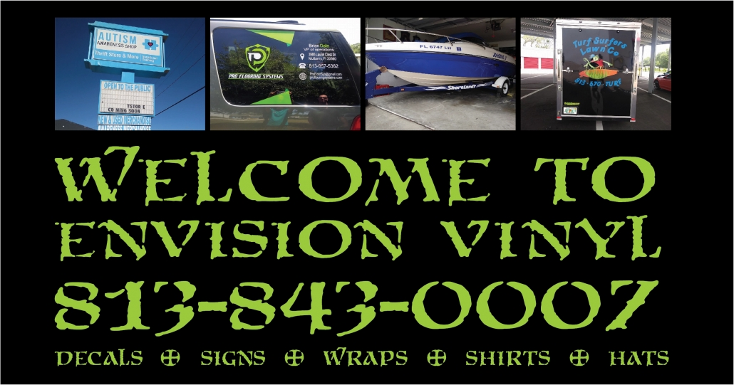 Home - Envision Vinyl - Decals, Signs, Wraps, Shirts, Hats